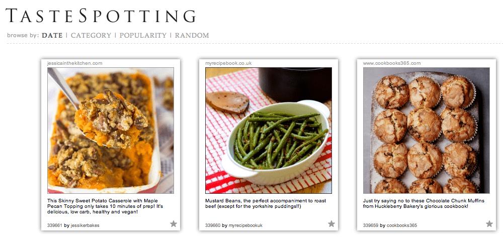 Mustard Beans on Tastespotting