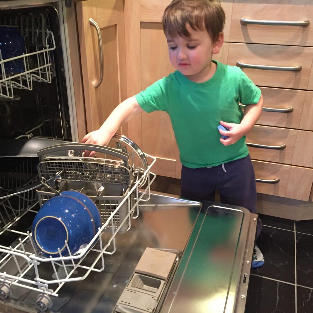 daddy birthday cake dishwasher