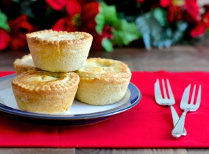 My recipe for traditional deep-filled mince pies. A delicious light almond pastry filled with homemade mincemeat - Christmas wouldn't be the same without them.