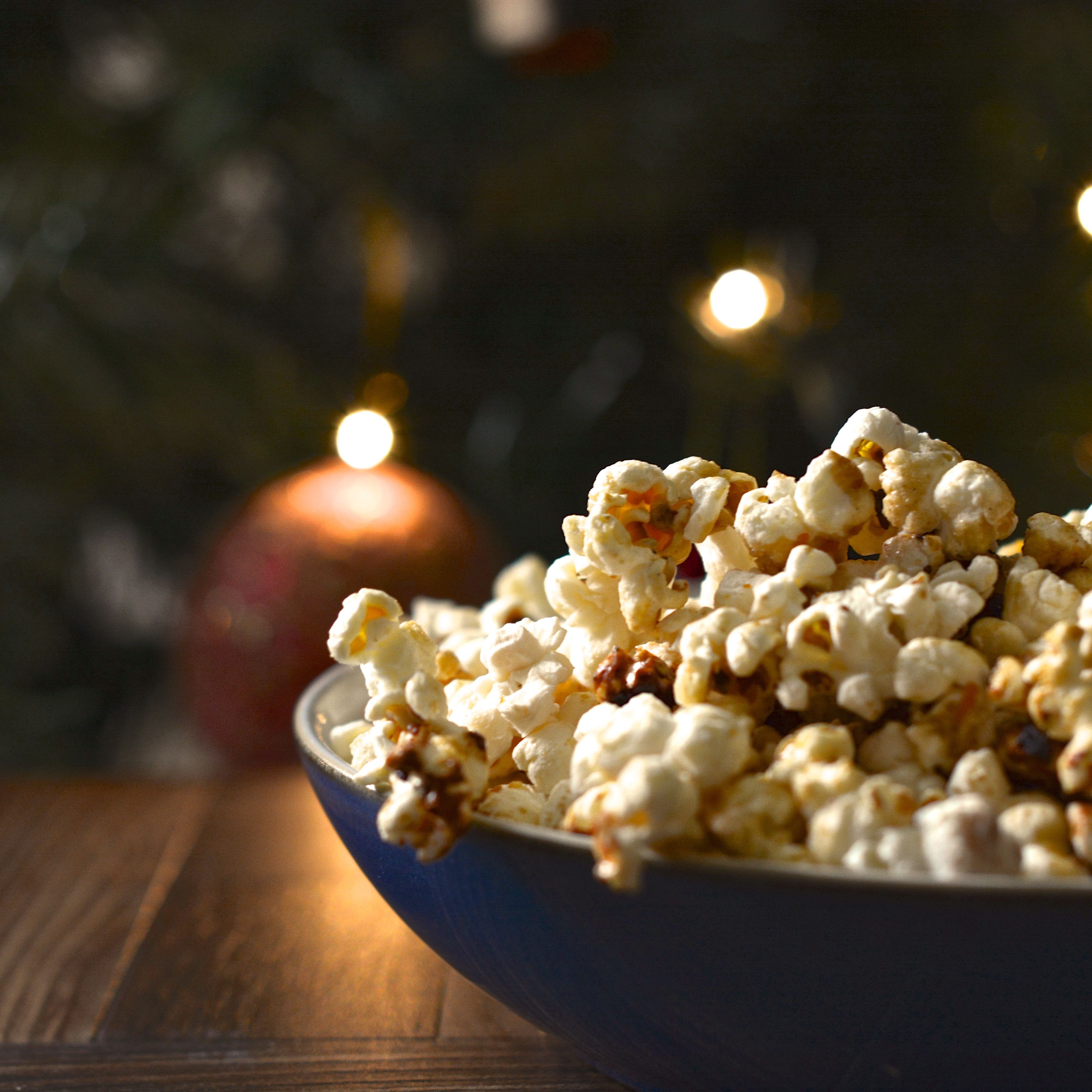 Spiced Orange Popcorn