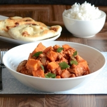 Chicken and sweet potato curry recipe