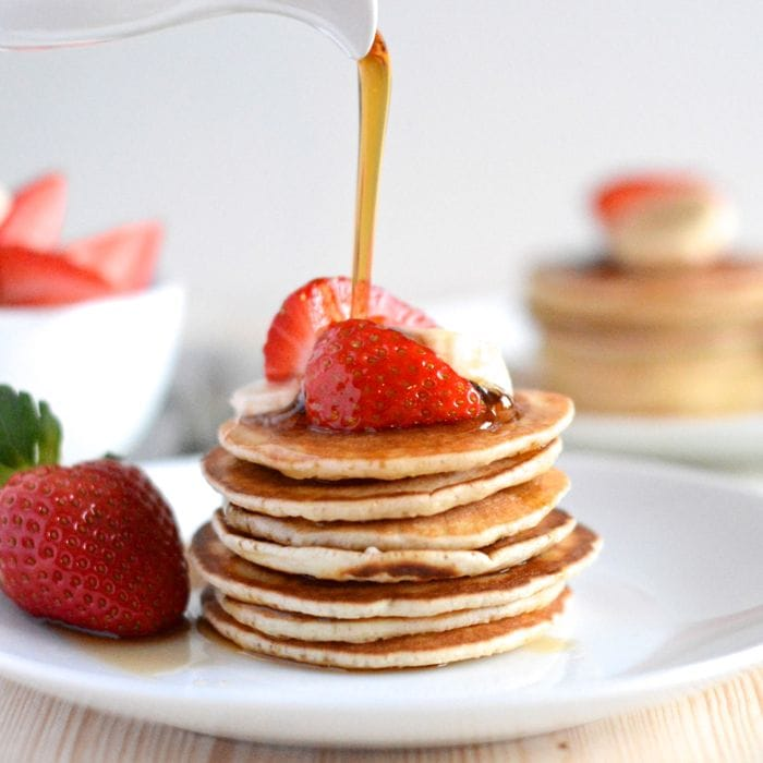 American Pancakes Quick Easy And Really Delicious Charlotte S Lively Kitchen