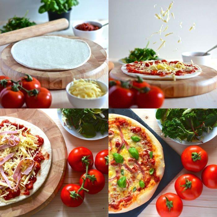 pizza dough recipe quartet