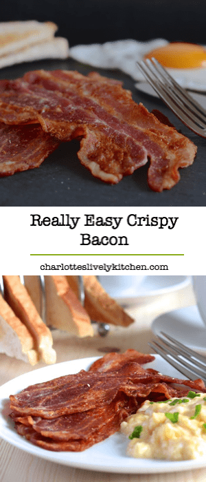 Making perfect crispy bacon at home is really simple. Follow these steps and you'll have perfect bacon every time (and even better it's really easy and takes almost no effort!).