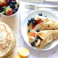 How to make perfect tradition pancakes. Just what you need for pancake day.
