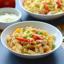cajun chicken pasta 1