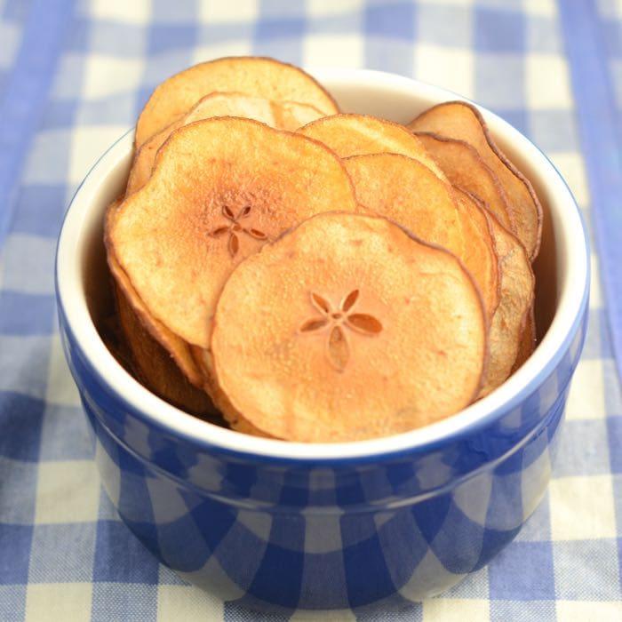 Pear crisps bowl