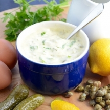 Tartare sauce ingredients