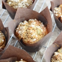 banana walnut breakfast muffin 2