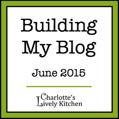Building my blog June 2015 badge