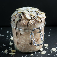 Coconut Chocolate Overnight Oats 3