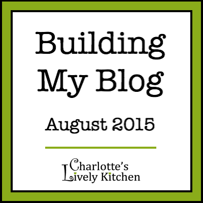 Building my blog August 2015 badge