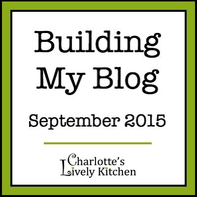 Building my blog September 2015 badge
