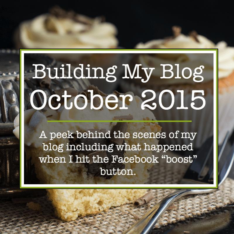 Building my blog october 2015