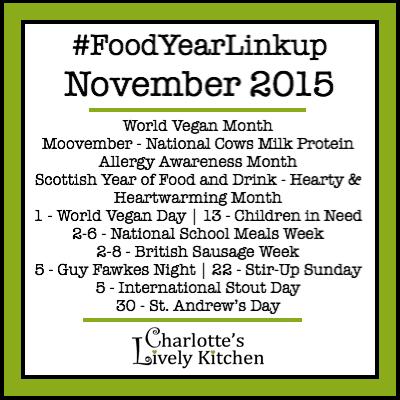 Food Year Linkup November 2015