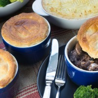 Steak and Mushroom Pie 8