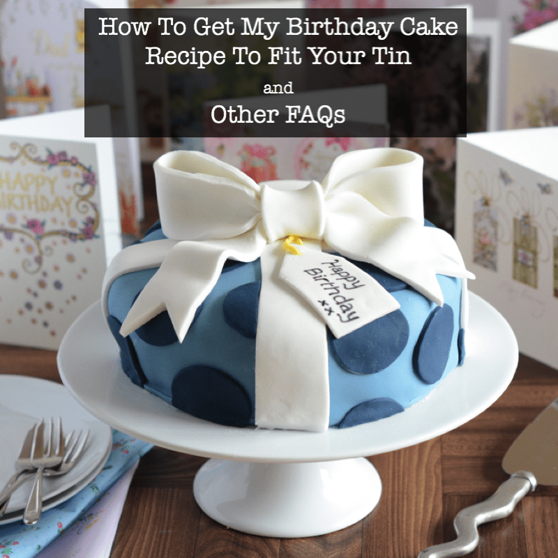 birthday cake faqs title