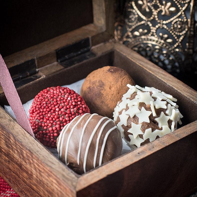 Baileys truffles 13