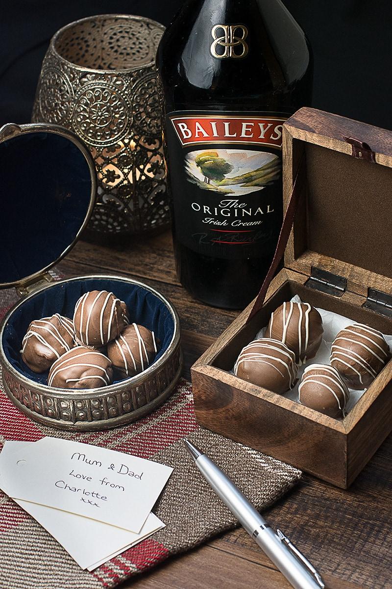 Easy baileys truffles recipe