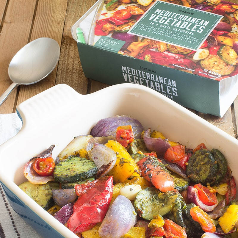 Think you don't have time to cook? This delicious Mediterranean vegetable lasagne is really simply to make and is ready for the oven in just 3 minutes.