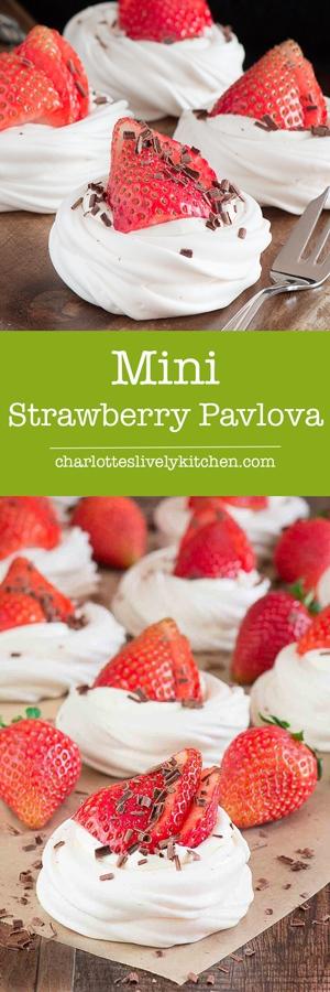 Mini-Strawberry-Pavlova