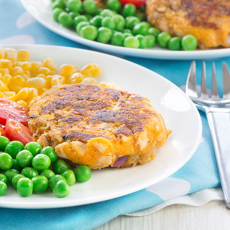 Delicious, family-friendly salmon and sweet potato fishcakes. Perfect for a quick and healthy dinner.