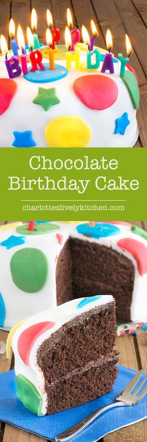 Charlotte S Lively Kitchen Birthday Cake