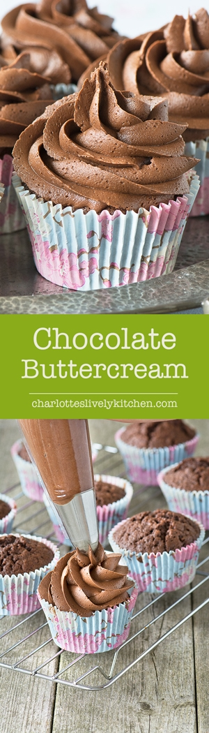 This easy chocolate buttercream gets its extra-chocolatey flavour from using both melted chocolate and cocoa powder. Perfect for birthday cakes, layer cakes and cupcakes.