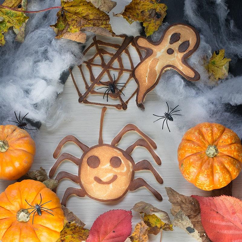Halloween Pancake Art 1