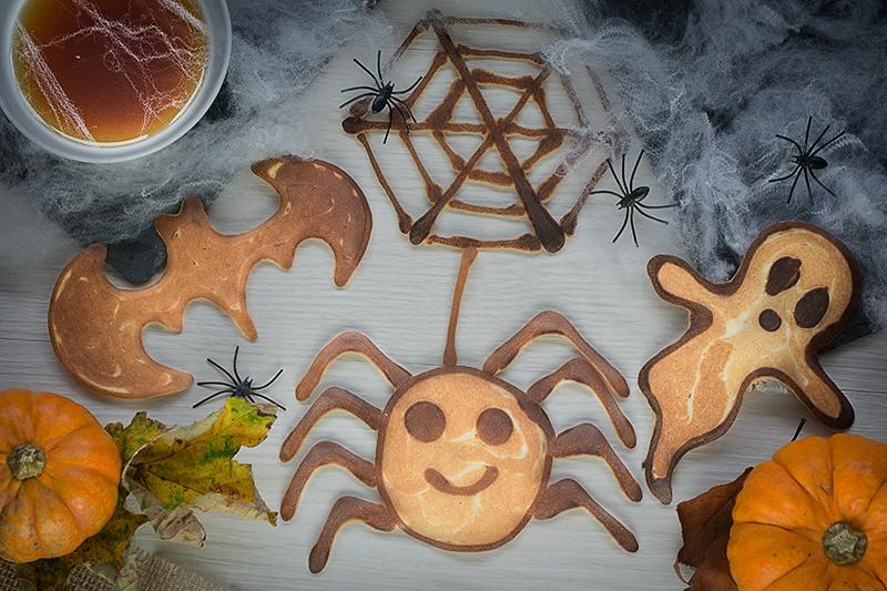 Halloween Pancake Art 6