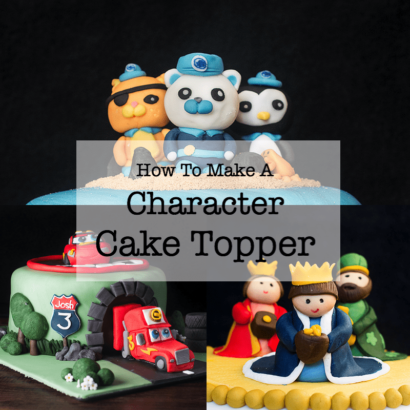 Groovy How To Make A Character Cake Topper Charlottes Lively Kitchen Funny Birthday Cards Online Overcheapnameinfo