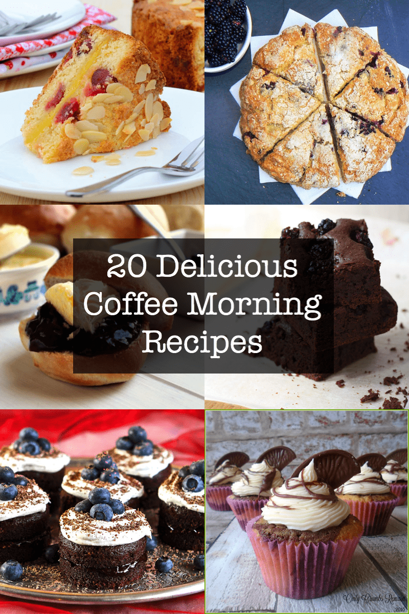 20 delicious coffee morning recipe ideas