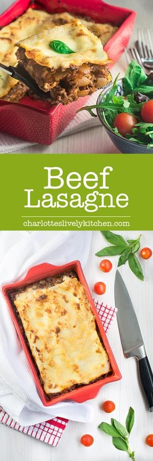 Beef lasagne pin