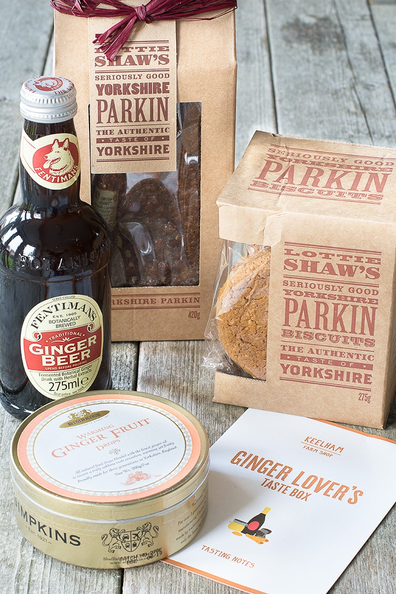Win a Ginger Lover's Taste Box from Keelham Farm Shop