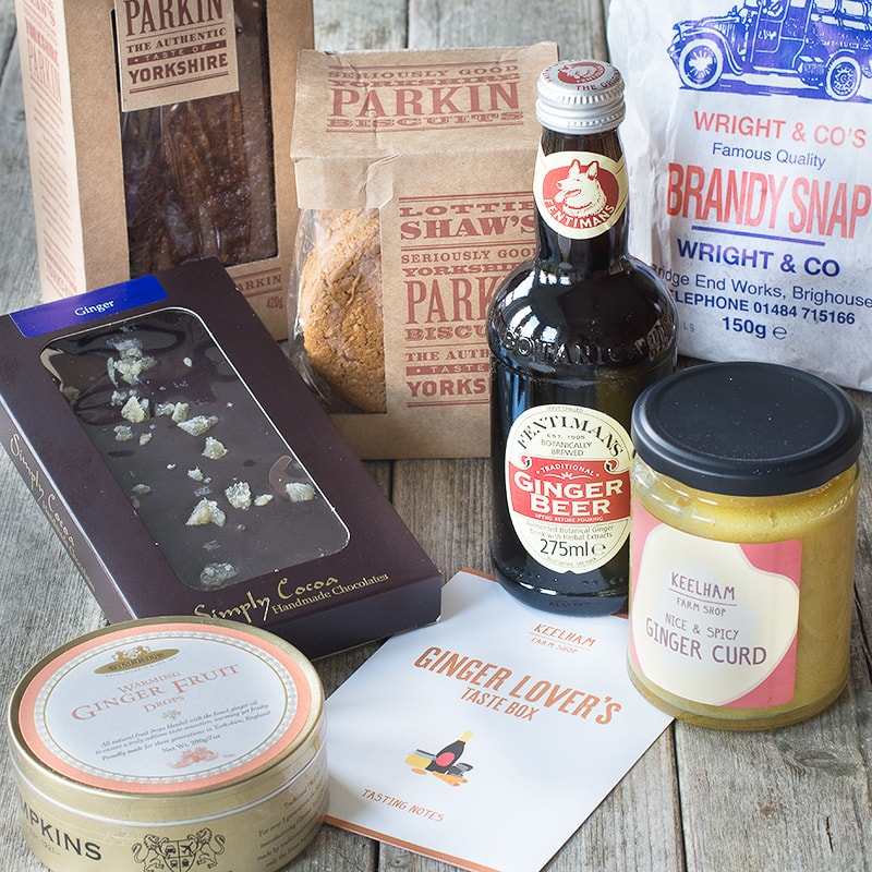 Win a Ginger Lover's Taste Box from Keelham Farm Shop.