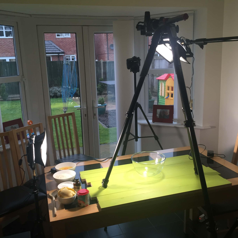 recipe-video-setup