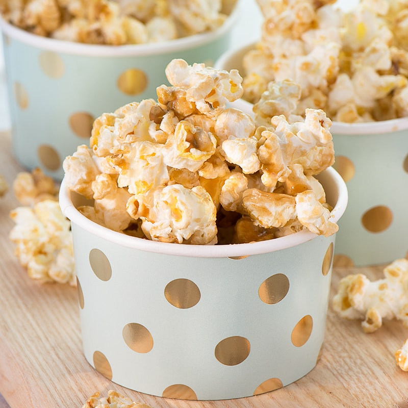 Better than at the Cinema) Sweet Popcorn | Charlotte's Lively Kitchen