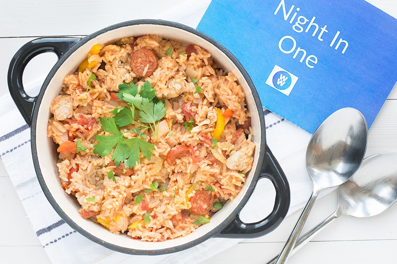 To fake it or make it? Can a chilled Chicken Jambalaya ready meal beat the homemade version? Come and find out.