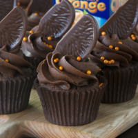 chocolate orange cupcakes buttercream-3