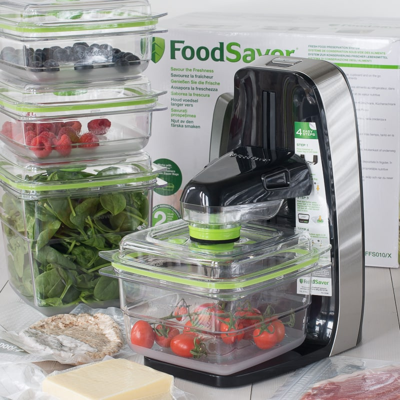 My review of the Foodsaver Fresh, a vacuum sealing system designed to help your fresh food last up to twice as long.