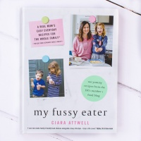 The cover of the My Fussy Eater cookbook