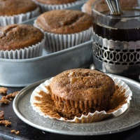 These delicious sticky gingerbread cupcakes are made withgroundginger, chopped stem ginger and brushed with ginger syrup sothey're packed full of flavour and perfectly moist. The ideal treat for any gingerbread lovers.