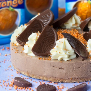 Chocolate Orange Cheeesecake