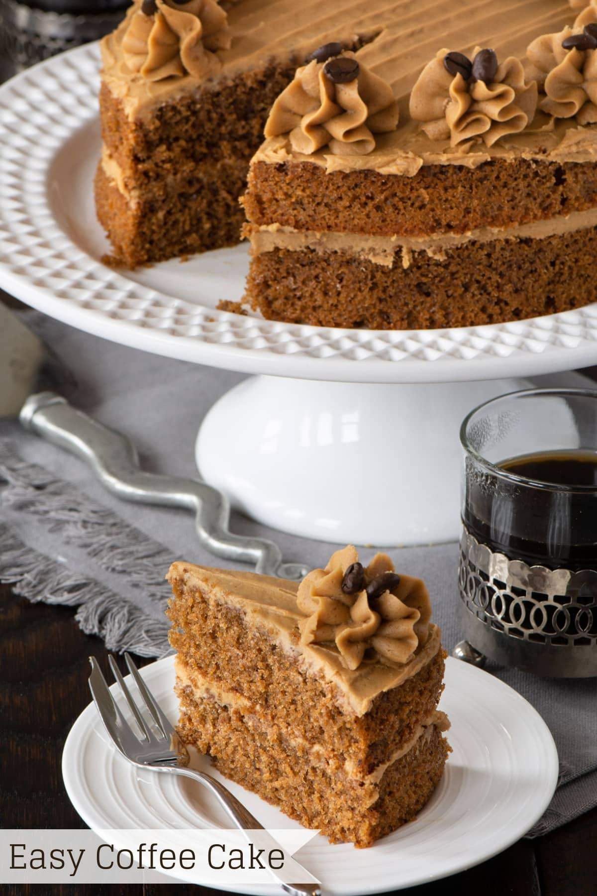 Easy Coffee Cake Charlotte S Lively Kitchen