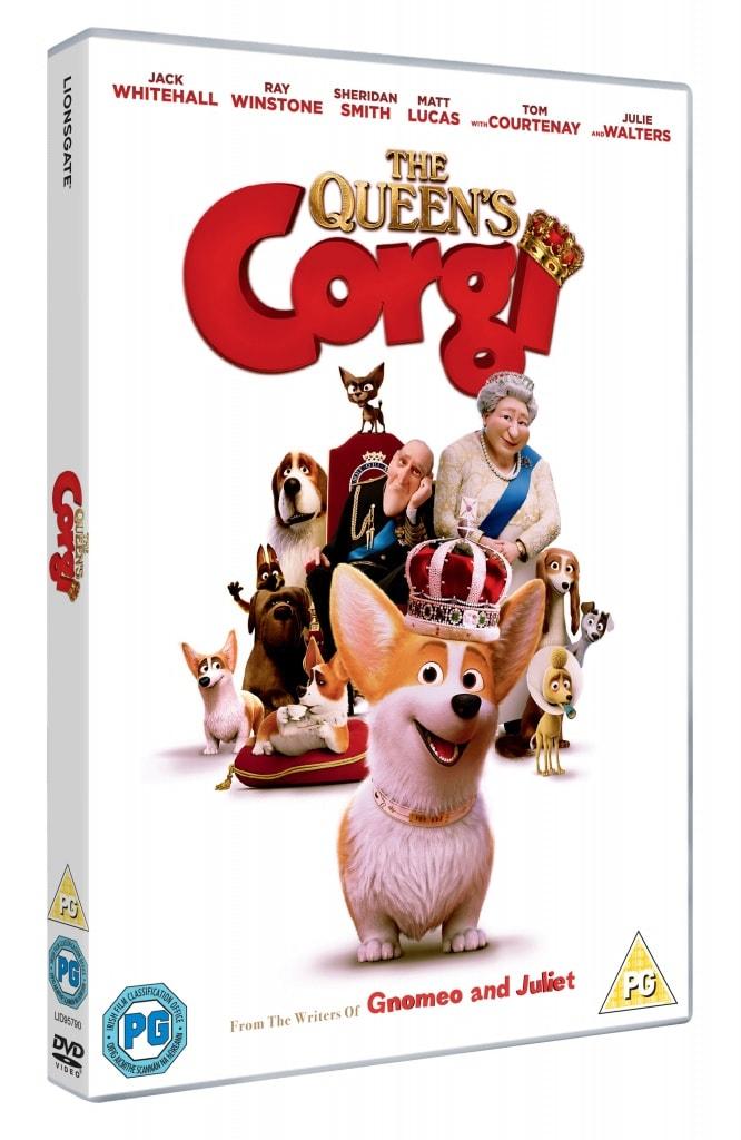 The Queen's Corgi DVD